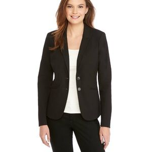 The Limited Two Button Black Blazer